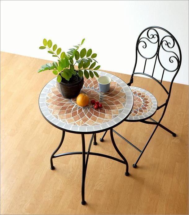 モザイクガーデンテーブル(6)