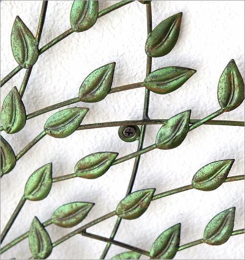 アイアンの壁飾り そよ風ツリー(2)