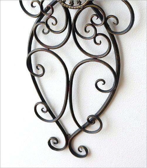アイアンの壁飾りペアリング(4)
