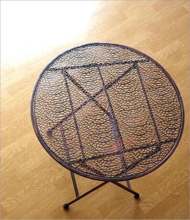 アイアンコッパーテーブル(1)