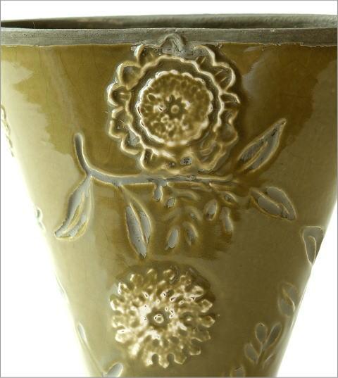陶器のミニベース フローラ(2)