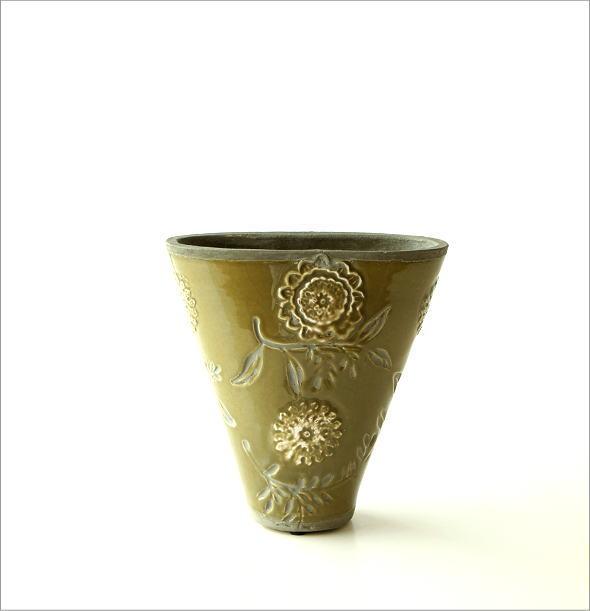 陶器のミニベース フローラ(4)