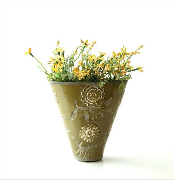 陶器のミニベース フローラ(5)