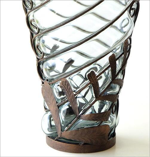メタルガラスベース ファーン(3)