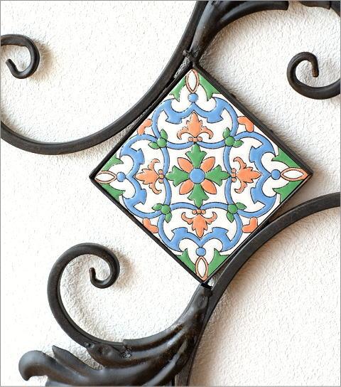 アイアンの壁飾り モザイク(2)