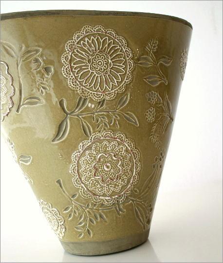 花瓶 陶器 クラシックベース・A(2)