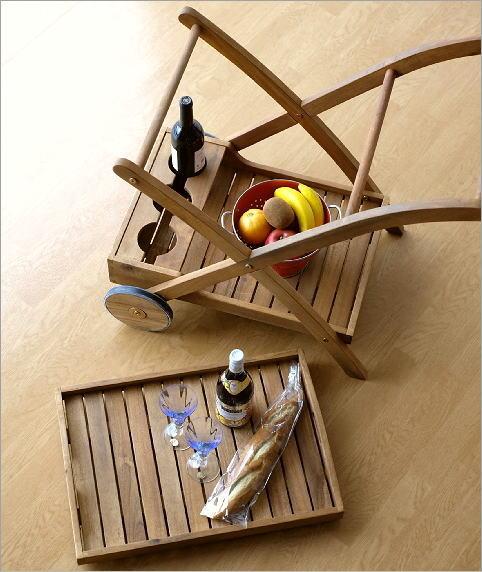 キッチンウッドカート(4)