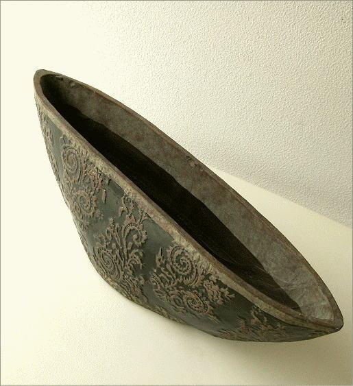 陶器の花瓶 クラシックベースB(1)