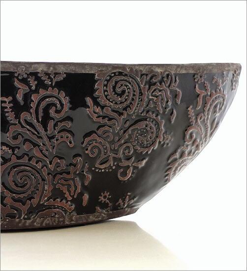 陶器の花瓶 クラシックベースB(3)