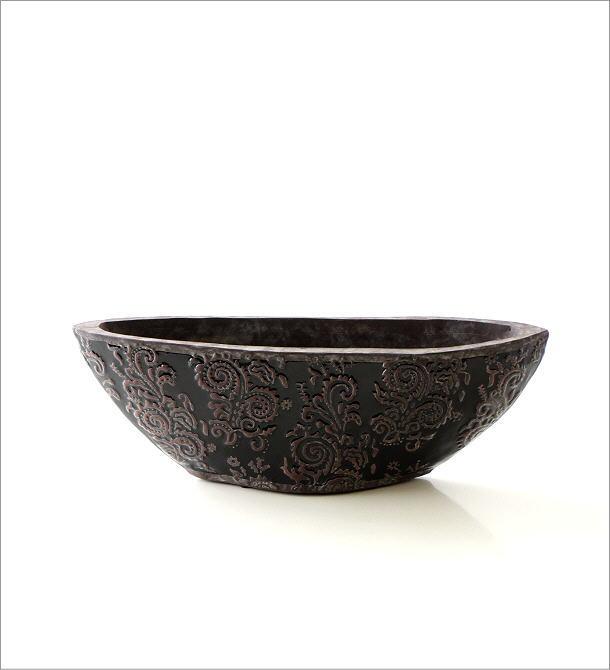 陶器の花瓶 クラシックベースB(4)