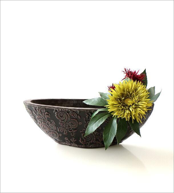 陶器の花瓶 クラシックベースB(5)