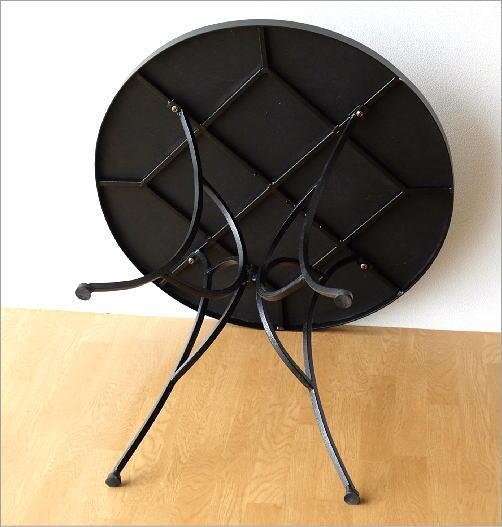 ガーデンテーブル モザイクブルー(4)