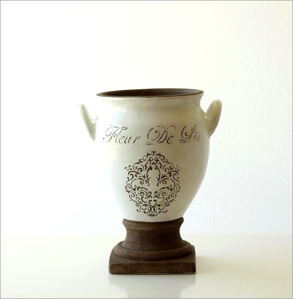 陶器のベース フルール(5)
