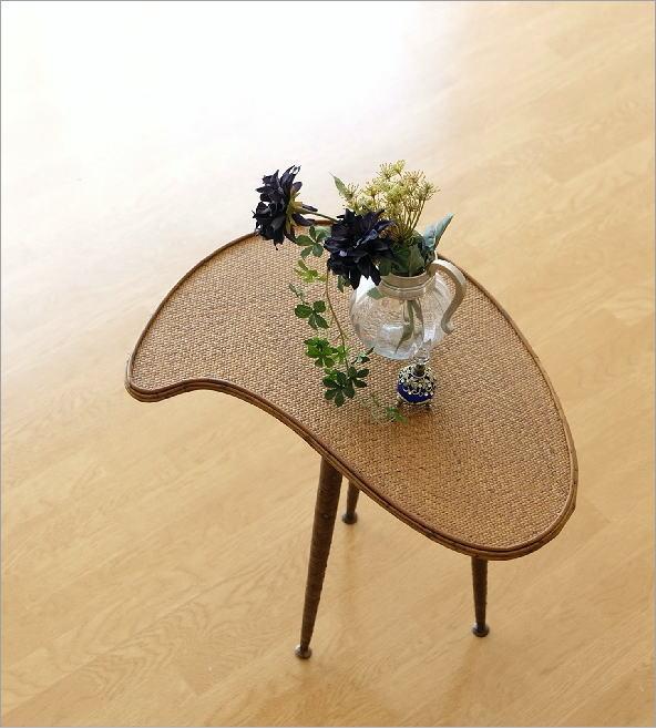 ラタンパレットサイドテーブル(1)