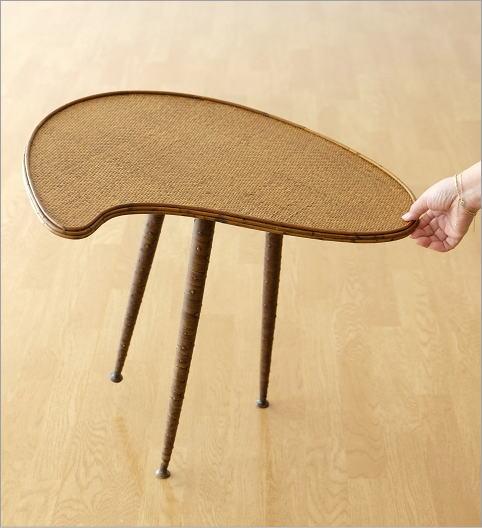 ラタンパレットサイドテーブル(3)