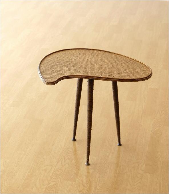 ラタンパレットサイドテーブル(5)