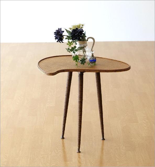 ラタンパレットサイドテーブル(6)