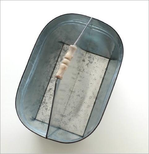 Tin バスケット ウッドハンドル(2)