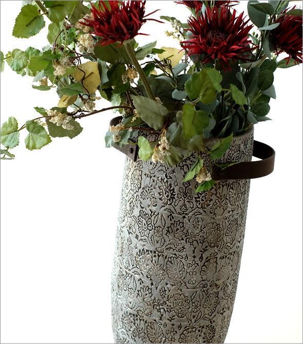 陶器のトールベース SARA(1)