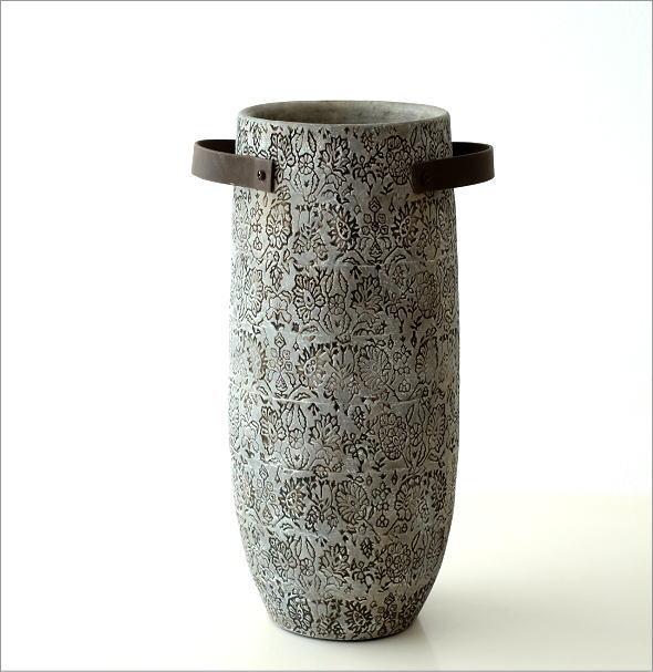 陶器のトールベース SARA(5)