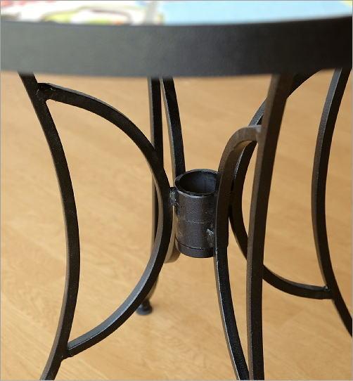 ガーデンテーブル モザイクフラワー(3)