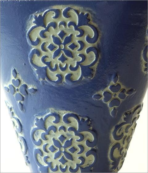 陶器のミニベース ブルーメ(2)