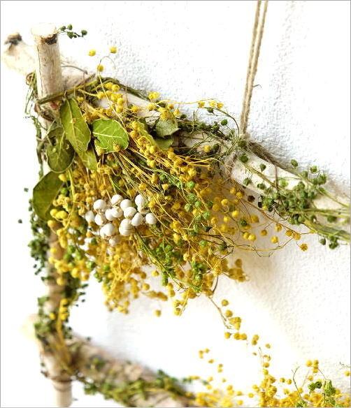 ドライミモザの白樺フレーム(2)