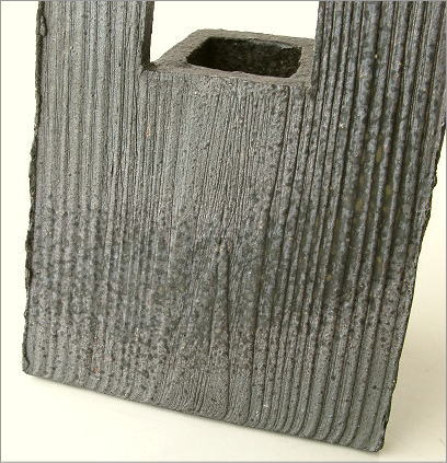 花器 陶器のフレーム花入れ(2)