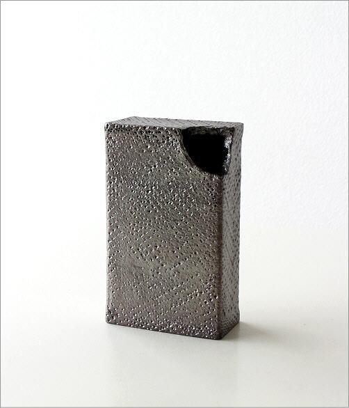 花瓶 和陶器ベース シンプルな角