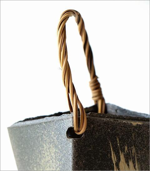 和陶器ベース 蔓付きA(2)