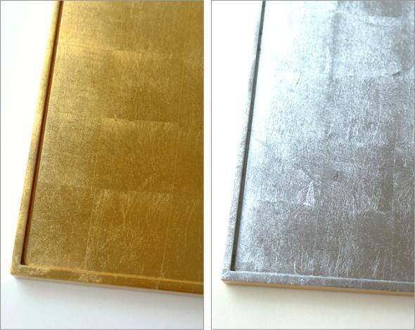 リバーシブル箔トレー 金・銀(2)