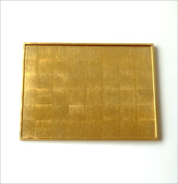 リバーシブル箔トレー 金・銀(4)