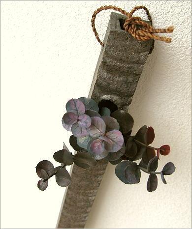 壁掛け花瓶 和陶器掛け花 四(1)