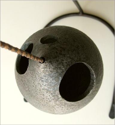 陶器 花瓶 吊り下げしずく型花入れ(3)