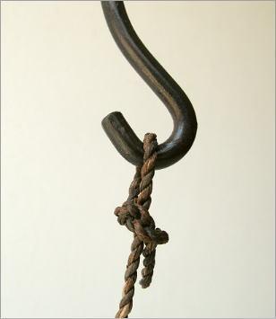 陶器 花瓶 吊り下げしずく型花入れ(4)