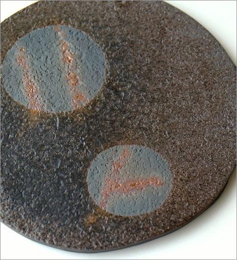 陶器の丸プレート(2)