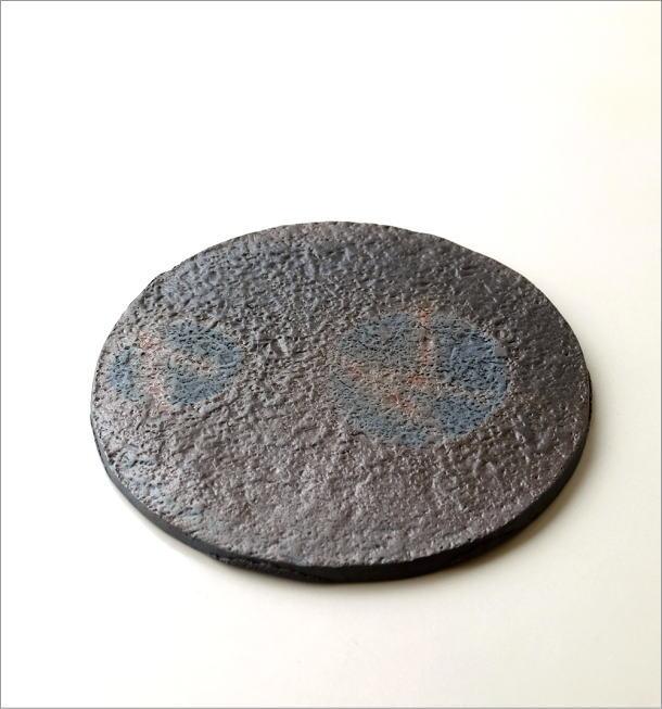 陶器の丸プレート(3)