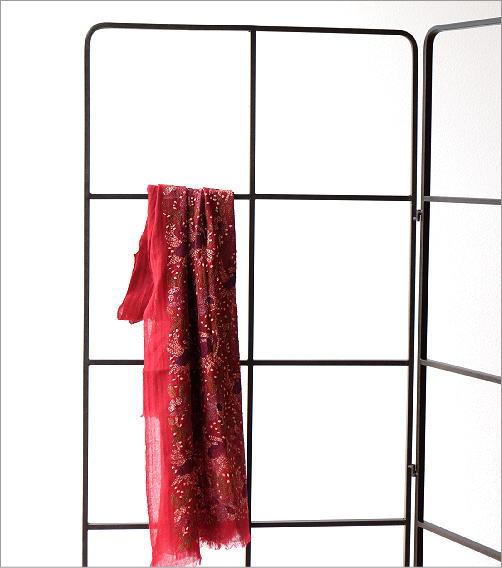 アイアン折り畳みスクリーン ラティス(2)