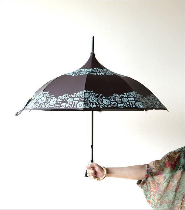 晴雨兼用アンブレラ パゴダA(1)