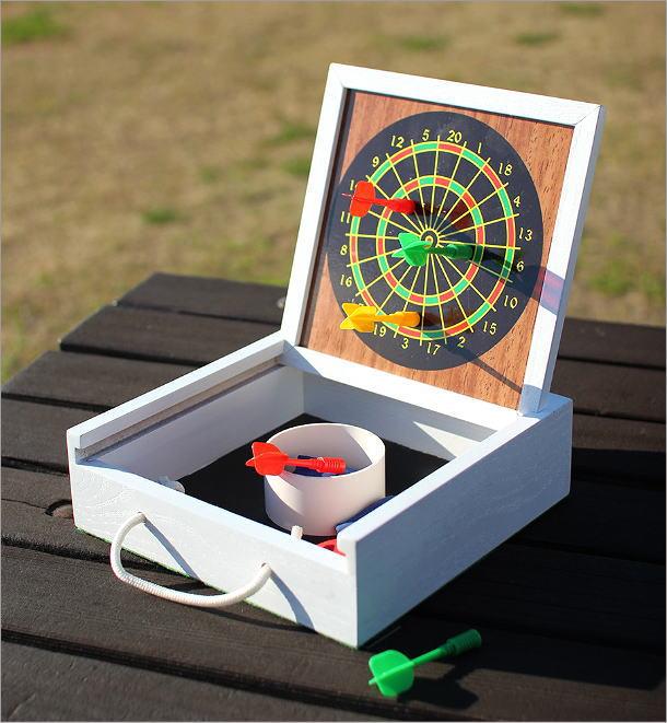 マグネット式ミニダーツ&バッグトスゲーム(1)