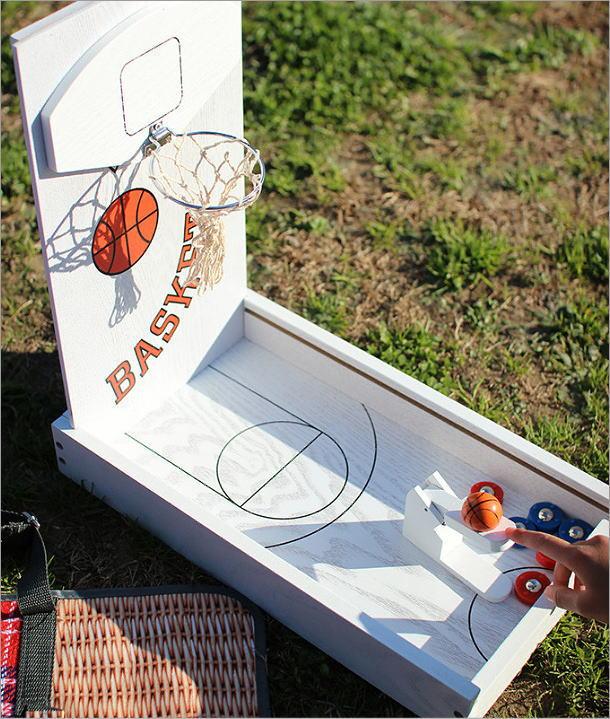ミニバスケットボールゲーム(1)