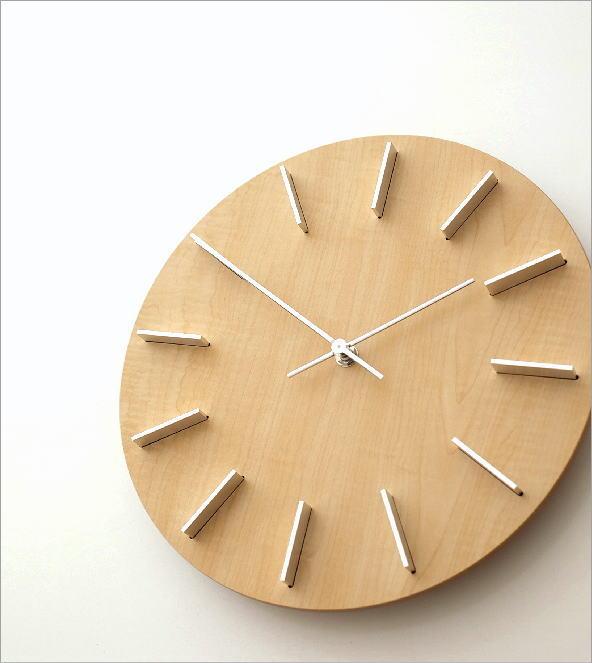 壁掛時計ナチュラル(1)