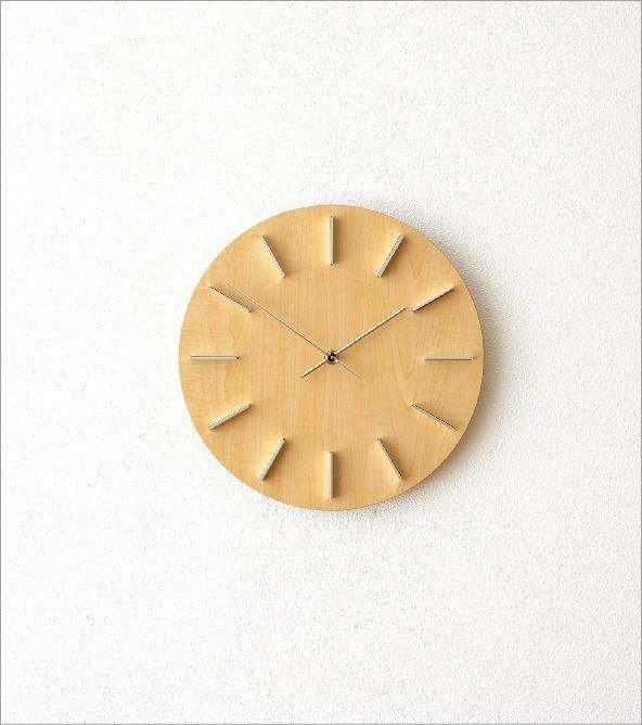 壁掛時計ナチュラル(4)
