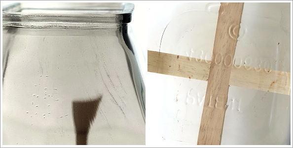 スタンド付ガラスベース 2カラー(4)