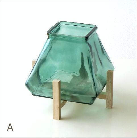スタンド付ガラスベース 2カラー(5)
