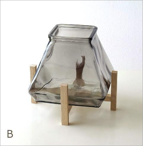スタンド付ガラスベース 2カラー(6)
