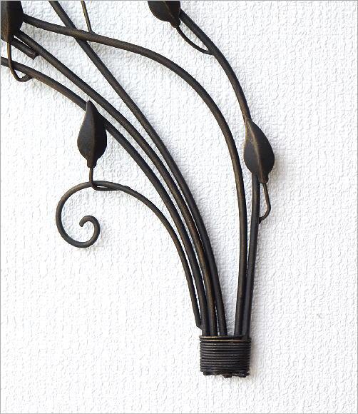 アイアンの壁飾り バードアラベスク(5)