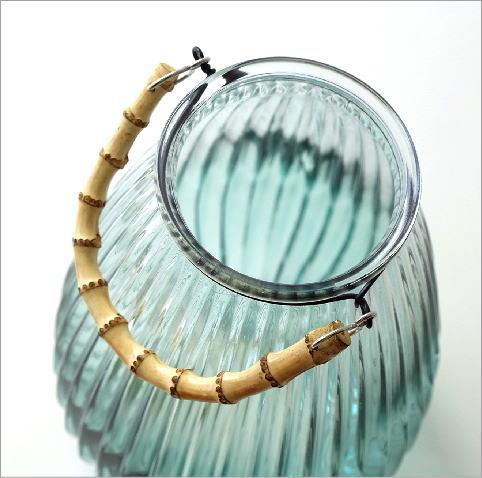 バンブーハンドル付ガラスベース(2)