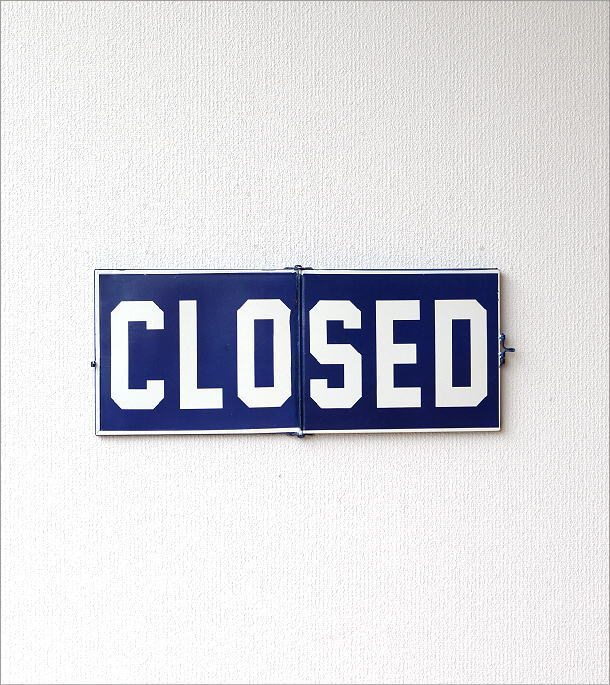 オープン&クローズドサインプレート(2)
