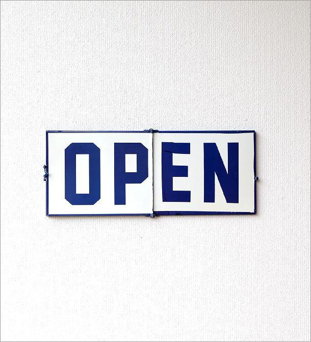 オープン&クローズドサインプレート(6)